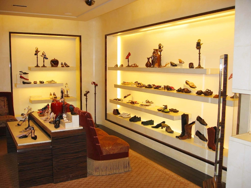 Commercial remodeling new hyde park new york city westchester - Bergdorf goodman shoe salon ...